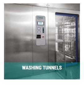 WASHING & DISINFECTOR TUNNELS