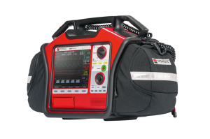 Semi-automatic external defibrillator / with 12 lead ECG, SpO2, NIBP, EtCO2, IBP and temperature