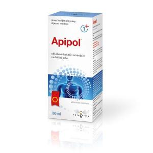 APIPOL honey syrup with marsh mallow root macerate and propolis tincture