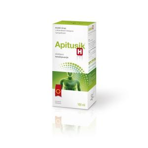 APITUSIK H honey syrup with thyme extract and propolis