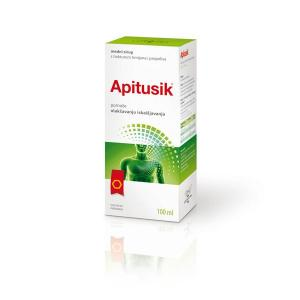 APITUSIK honey syrup with thyme and propolis tinctures