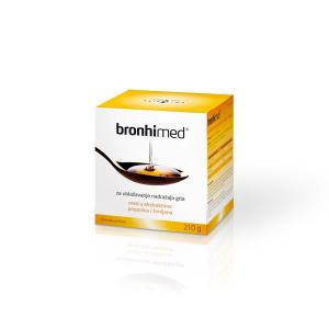 BRONHI MED mixture of honey and bee products with supplements