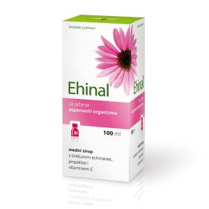 EHINAL honey syrup with Echinacea and propolis tinctures and vitamin C