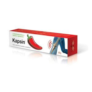 KAPSIN ointment with pepper extract and propolis for relieving pain in muscles and joints