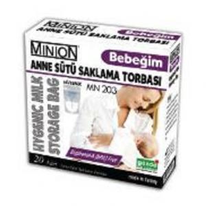 Baby Mothers Sütü Storage Bag 20 Pcs