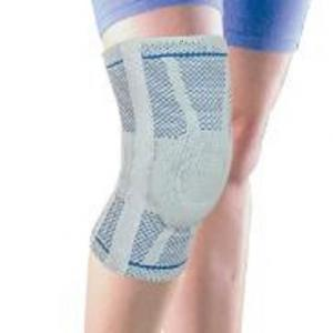 Ligament Supported Knitting Knee Silicone