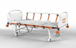 DE 1010TWO MOTORIZED ELECTRONIC BED WITH FOLDABLE LEGS & SIDE RAILS – Trinodal