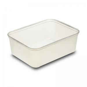 Container with cloesd lid