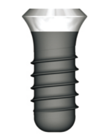 Standard Plus Implant Ø 4.8 mm Wide Neck Ø 6.5 mm S-L-A 8 mm Ti