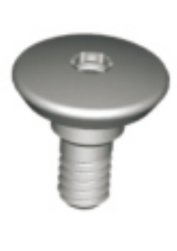 RN Closure screw, large, height 1.5mm