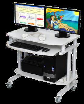 2-channel EEG Biofeedback Device + EEG Recording & Analysis