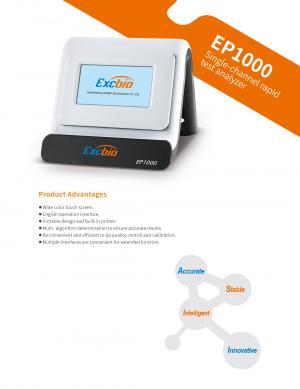 EP1000 Single-channel rapid test analyzer