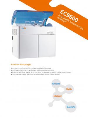EC9600 Automatic biochemistry analyzer