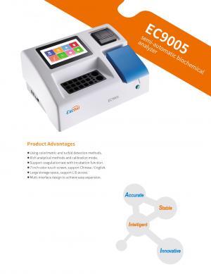 EC9005 Semi-automatic biochemical analyzer