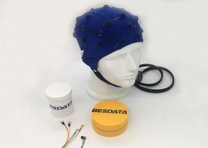10/20 International Standard EEG Electrode Cap For Brain Test , Blue