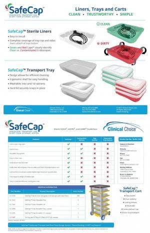 SafeCap Endoscope Transport & Short Term Storage