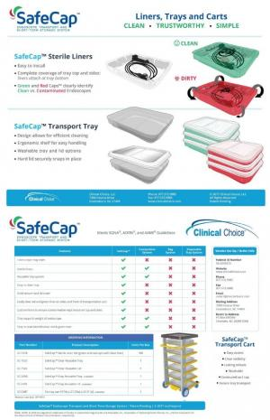 SafeCap Endoscope Transport & Short Term Storage