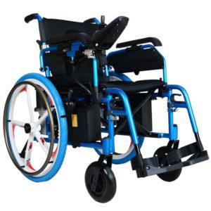 EW8703L Electric Wheelchair with Strong Wheels