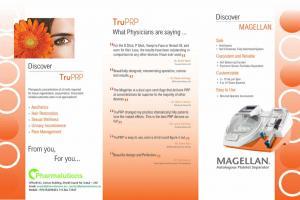 Magellan Autologous Platelet Separator TRU PRP
