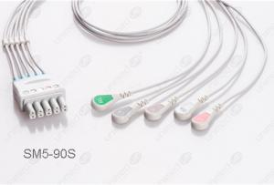 Drager>Siemens Reusable ECG LeadWires SM5-90S