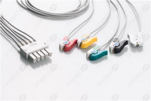Drager>Siemens Reusable ECG LeadWires SMD5-90P-I
