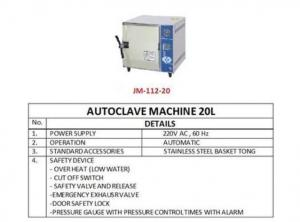 TABLE TOP AUTOCLAVE MACHINE