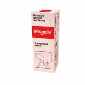 Miramile Tonsil mouth and throat spray
