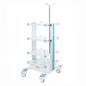 Endoscope Image Forming Workstation Cart Gastroscope Trolley