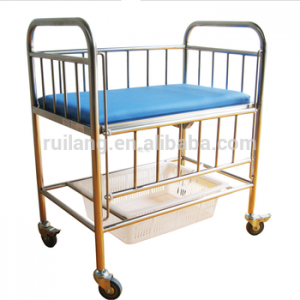 Rc-035b/t Safe And Good Looking Stainless Steel Infant Hospital Bed