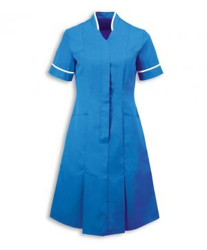 Mandarin collar dress - Dresses - Healthcare | Alexandra