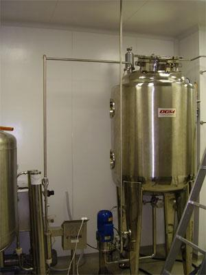 Water treatment systems for biotechnology industries