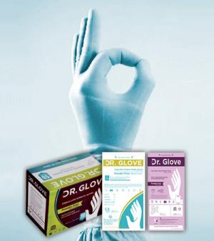 Latex Surgical Gloves – Powdered Free | Dr. Glove | Powdered Free Gloves in India