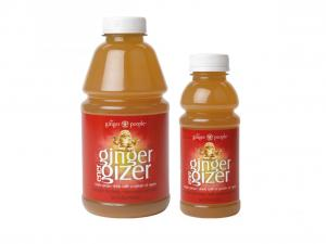 Ginger People  Ginger Energizer  Ingredients: Filtered Water, Naturally Pressed Ginger Juice, Lemon Juice, Natural Honey, Apple Juice Concentrate and Freeze-Dried Ginger  (No Chemical Added all Natural)