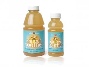 Ginger People  Ginger Soother  Ingredients: Filtered Water, Naturally Pressed Ginger Juice, Lemon Juice, Natural Honey  (No Chemical Added all Natural)