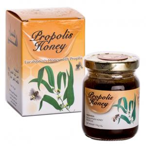 Honey is a great natural source of carbohydrates which provide strength and energy to our bodies, honey is known for its effectiveness in instantly boosting the performance, endurance and reduces muscle fatigue.Propolis has been used intraditional medicinesfor thousands of years for treatingcold sores,genital herpes, and post-surgery mouth pain. Propolis is also used to make cough drops for cough and throat irritation. Thus the combination of these two will give you tons of health benefits.