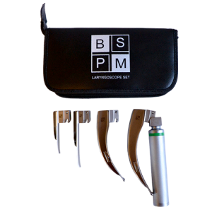 4 Blade Laryngoscope Set – Fibre Optic