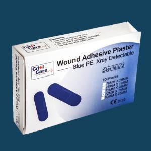 CritiCare™ Blue X-Ray Detectable Plasters
