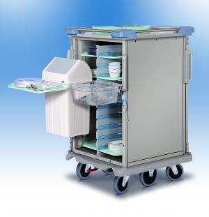 Clear-away solution trolley for Accessories – Socamel, catering logistics
