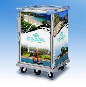 Customization solution trolley for Accessories – Socamel, catering logistics