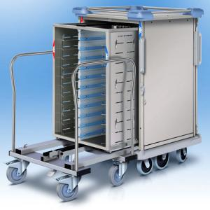 Insulated trolley : Socamel - Servitherm, thermally insulated tray trolley