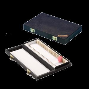 Slide Box (Black) to hold 50 slides From Atom Scientific Ltd | Microscope Slide Storage | Atom Scientific