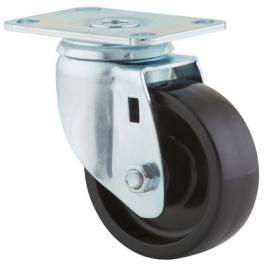 Swivel Castors, AGILA 2670POO3.5x1.25P52-95x70, Steel Castors | TENTE USA