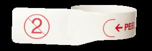 Paper single use tourniquet - Sarstedt
