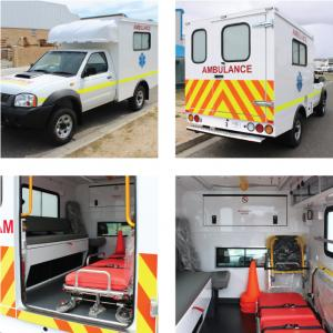 AVE Modular Ambulances | Advanced Vehicle Engineering