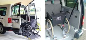 AVE BIERMAN VOLKSWAGEN CADDY MAXI WHEELCHAIR ACCESS CONVERSION | Advanced Vehicle Engineering