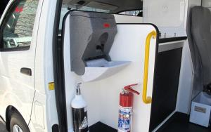 AVE mobile health and hygiene | Advanced Vehicle Engineering