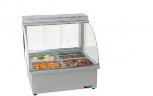 2 DIV TABLE MODEL BAIN MARIE WITH SNEEZE GUARD	- BMA4002