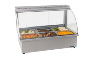 3 DIV TABLE MODEL BAIN MARIE WITH SNEEZE QUARD	- BMA4003