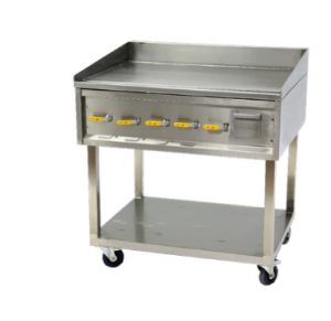 900 MM GAS FLAT TOP GRIDDLES ( RIBBED PLATE) - FLOOR STANDING	- FTG1900