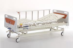 B-10 Movable full-fowler Bed With ABS head/foot board(Central Locking)